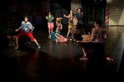 Open Spaces/Sommer Tanz 2018 , Dance : Adrian Carlo Bibiano , Forough Fami , Anna Fitoussi , Johanna Ackva , Ivan Björn Ekemark (u) , Sigrid Savi , Sunayana  Shetty , Alistair  Watts (u) & Lyllie  Rouvière (v.l.n.r.)
