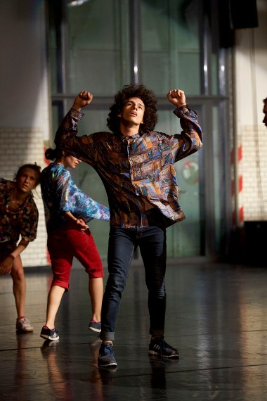 Open Spaces/Sommer Tanz 2018 , Dance : Johanna Ackva , Forough Fami & Adrian Carlo Bibiano (v.l.n.r.)