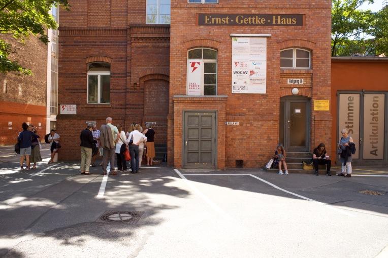Hof der Tanzfabrik in Kreuzberg