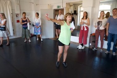 Gabriele Reuter & die Gruppe im Studio 2, Tanzfabrik Kreuzberg