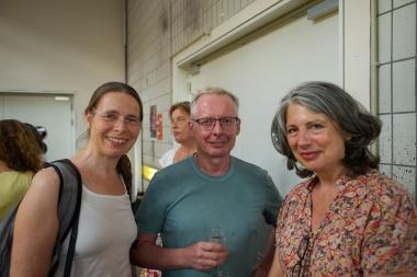 Antja Kennedy , Dieter Heitkamp & Eva-Maria Hoerster (v.l.n.r.)